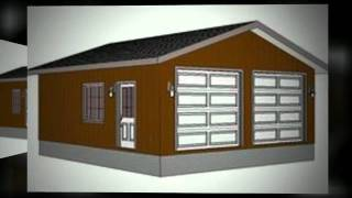 10 Complete Construction Ready Garage Plans