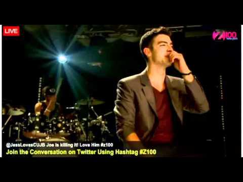 Joe Jonas Z100 Jonas Brothers Medley