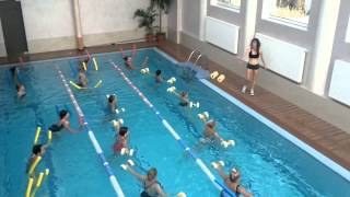Аква фитнес глубокая вода