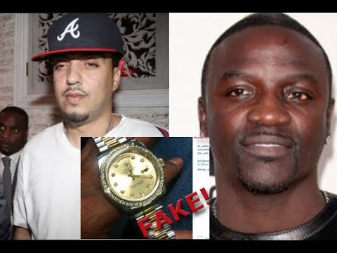 Akon DISRESPECTS French Montana and Gifts Him a FAKE WATCH on His Birthday!