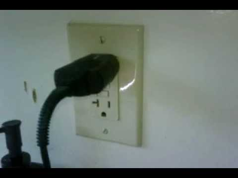 Electrical Noise Bathroom Gfci Outlet Arcing Inside The Wall Youtube