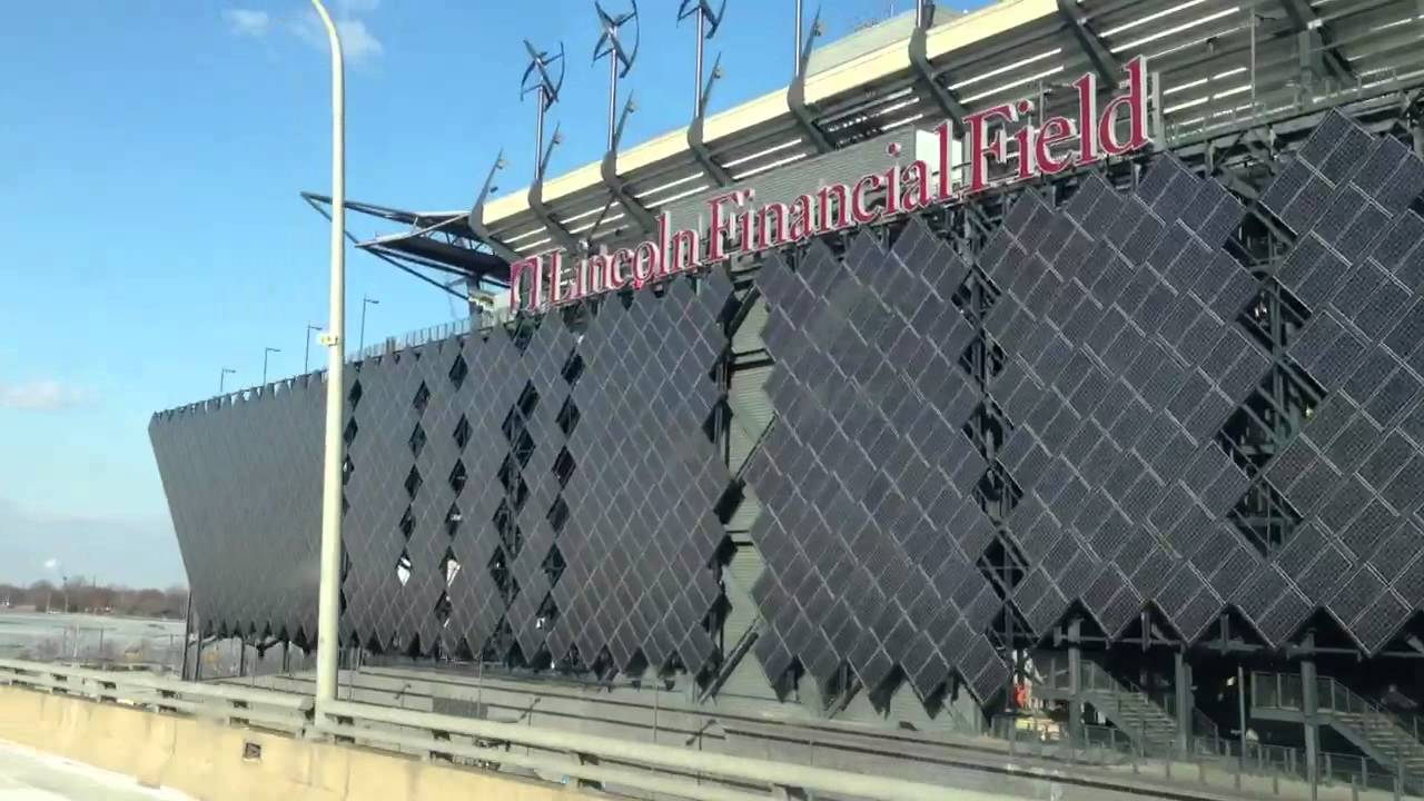 Lincoln Financial Field Solar Youtube