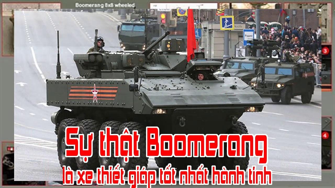 Sự thật Boomerang là xe thiết giáp tốt nhất hành tinh