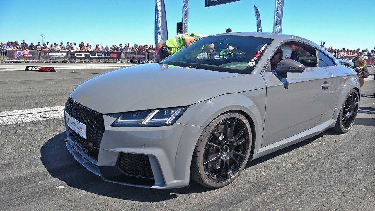 600hp Audi Tt Rs Plus Tte625 Brutal Accelerations