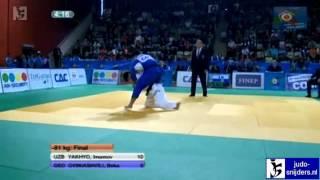 Imamov Yakhyo (UZB) - Beka Gviniashvili (GEO) [-81kg] final