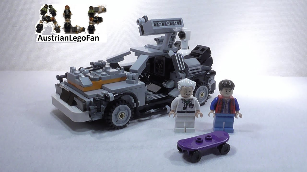 Lego Ideas 21103 The Delorean Time Machine Delorean