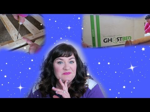 A Bed In A Box?! GhostBed Mattress & Foundation Review/$50 Discount