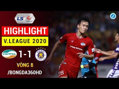 Highlight Viettel 1 1 Hà Nội Vòng 8 V League 2020