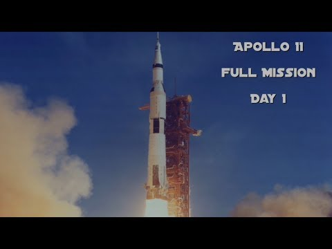 Apollo 11 - Day 1 (Full Mission)