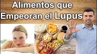 Alimentos que Empeoran la Enfermedad de Lupus -  Venenos Para el Paciente