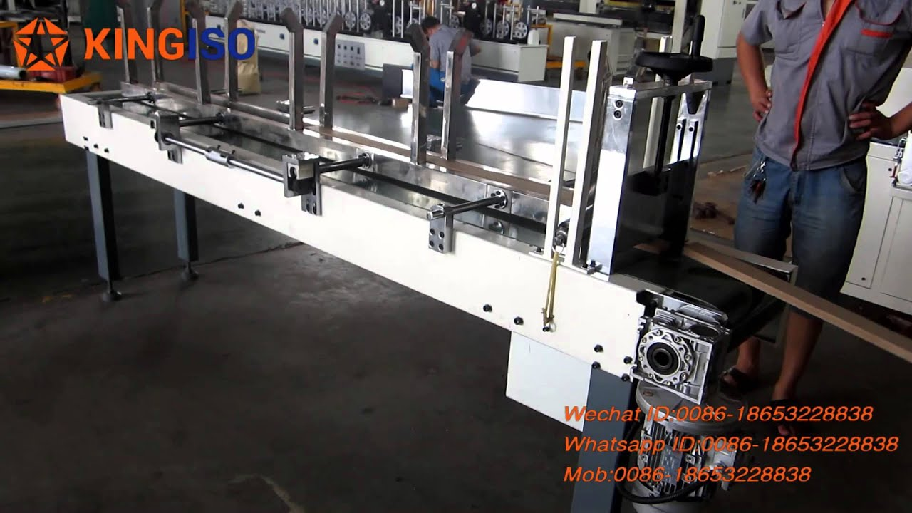 Automatic Feeder for Woodworking - YouTube