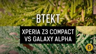 Samsung Galaxy Alpha vs Sony Xperia Z3 Compact: 4K video comparison
