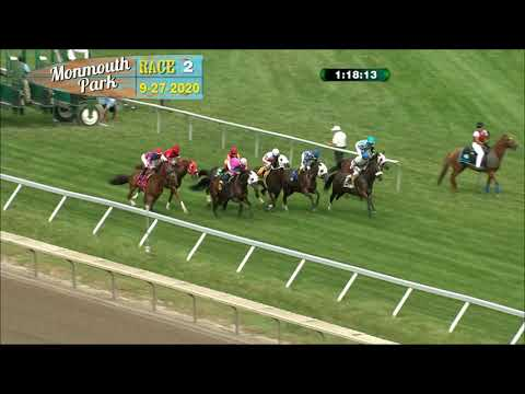 video thumbnail for MONMOUTH PARK 09-27-20 RACE 2