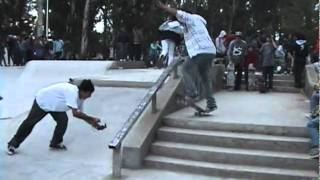 ARISE TRUCKS DEMO TOURS SKATE PARK EN THE LORD DANNY SHOW