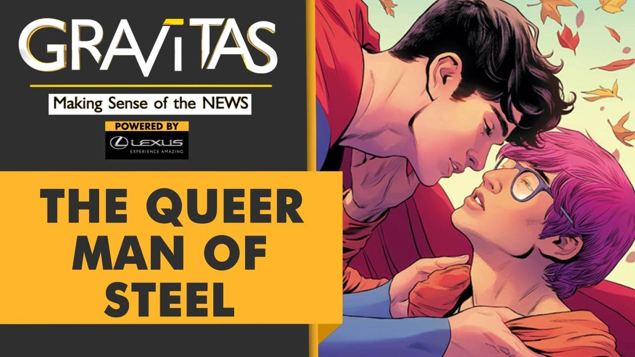 Download Gravitas: New Superman comes out as bisexual