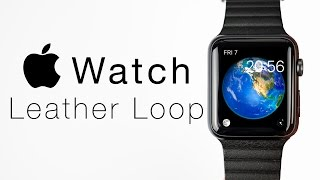 Скачать The BEST Apple Watch Band Leather Loop Review