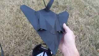 Micro (F-117 Stealth Fighter) RC Jet for Pdf plans. foamconceptjets.com