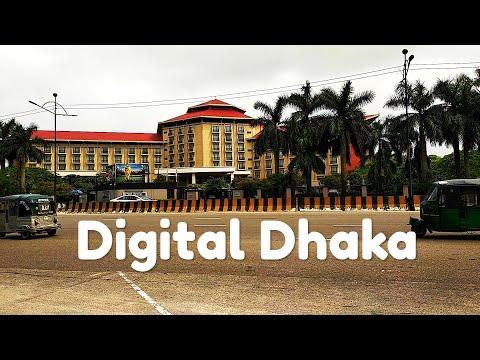 Digital Dhaka | ডিজিটাল ঢাকা এয়ারপোর্ট রোড | Beautiful Dhaka Street View