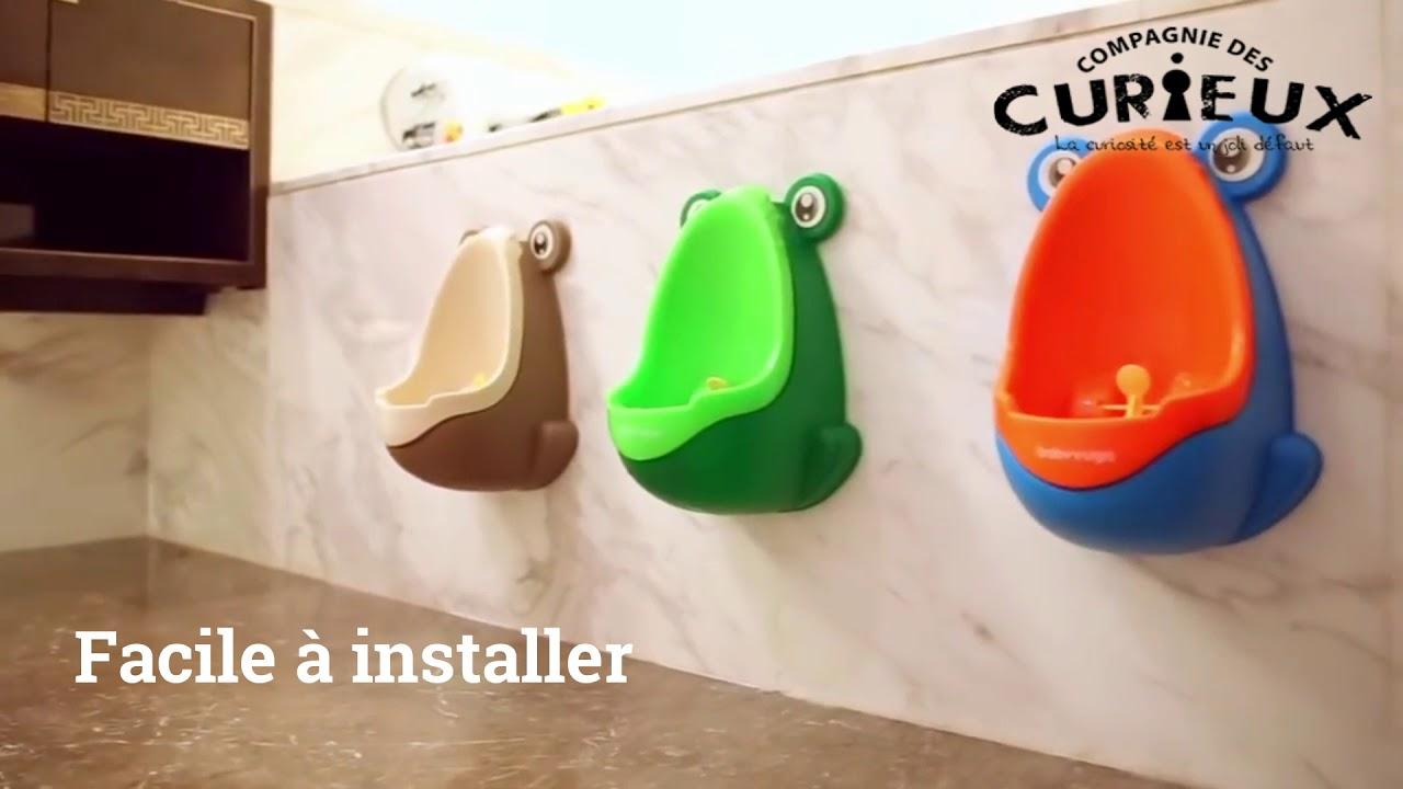 Urinoir dapprentissage pour enfants en forme de grenouille