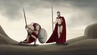 Как должен был закончиться фильм 300 спартанцев.