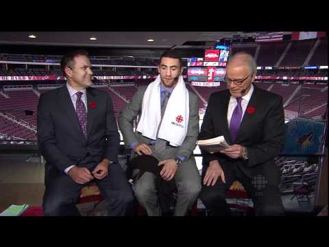 HNIC - After Hours: Paul Bissonnette aka. BizNasty2point0 (Part 1 of 2) - Nov 5th 2011 (HD)