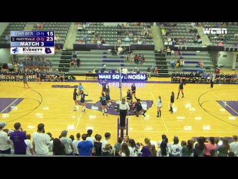 Har-Ber Wildcat Volleyball   Har-Ber vs Fayetteville