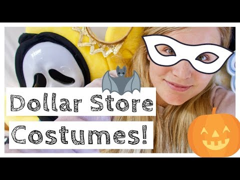 Online Dollar Store Halloween Costumes - Huge Haul - Kids and Adults