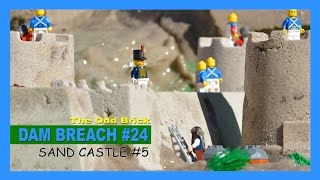 LEGO Dam Breach #24 - Sand Castle #5
