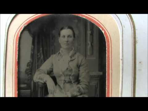 19th Century Album of Tintype photos