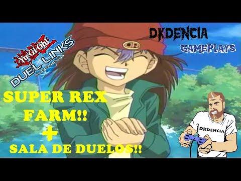 FARM SUPER REX   SALA DE DUELOS - YU-GI-OH DUEL LINKS!