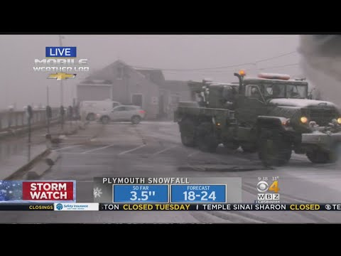 Weather Emergency Declared In Plymouth