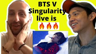 BTS (방탄소년단) - BTS V Singularity Live Stage Performance | Rea…