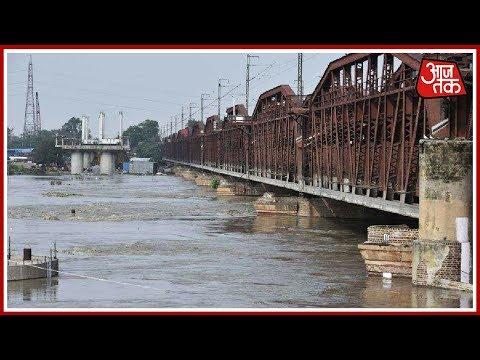 Delhi On Flood Alert As Water Level In Yamuna River Nears Danger Mark