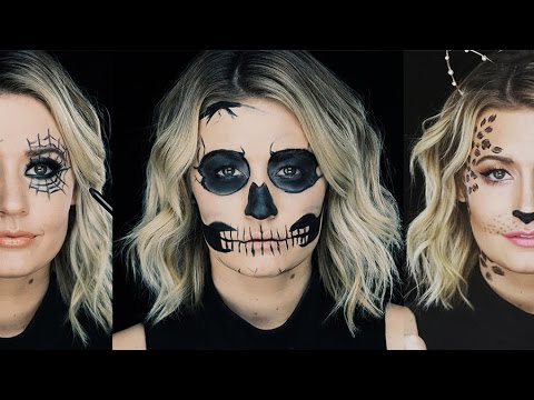 Gorgeous Halloween Costumes Using ONLY EYELINER! | Beauty Junkie ...