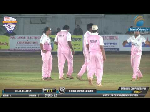 Finolex Cricket Club Vs Golden Eleven |Ratnagiri Champion Trophy 2017