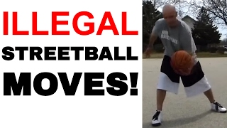 What Streetball Moves Are Illegal in Basketball? What