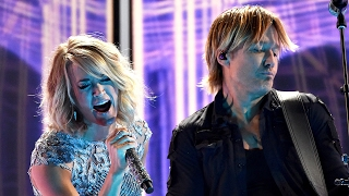 "Carrie Underwood & Keith Urban NAIL ""The Fighter"" Duet At 2017 Grammy Awards"