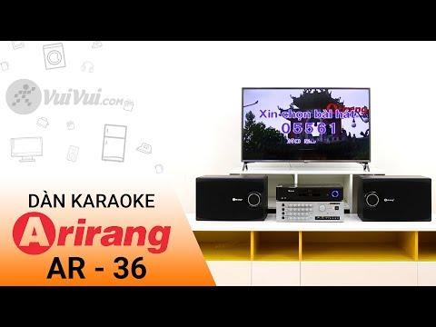 Dàn Karaoke Arirang AR-36 - Sự lựa chọn tốt cho tầm giá dưới 5 triệu | Điện máy XANH