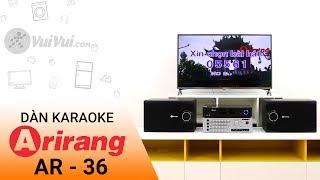 Dàn Karaoke Arirang AR-36: sự lựa chọn tốt cho tầm giá dưới 5 triệu | Điện máy XANH