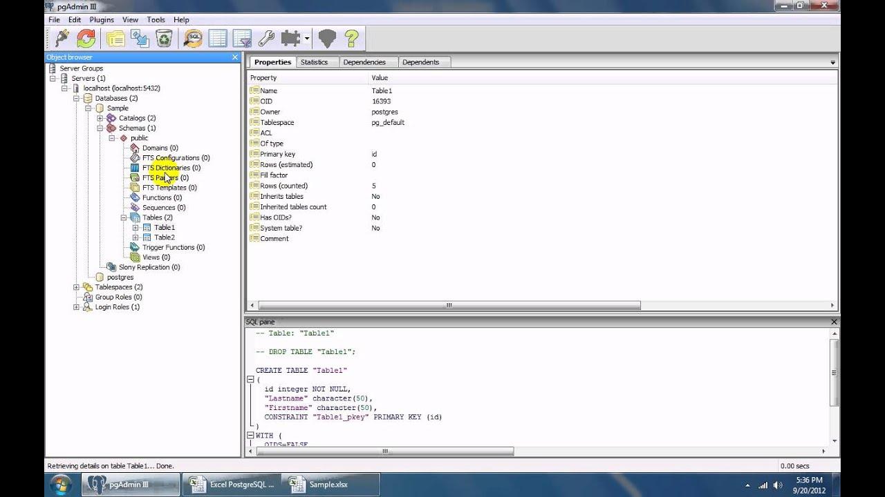 How To Use Excel PostgreSQL Import, Export & Convert Software - YouTube