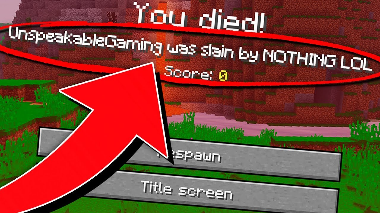 25 WORST WAYS TO DIE IN MINECRAFT!
