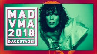 Backstage Στα MAD VMA 2018 | Mairiboo Lost Her Mind