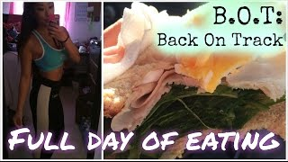 Full Day of Eating, Intuitive Eating + Forgive the Past | Back on Track