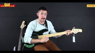 Music Man - Sterling Sub Ray 4 String vs. StingRay 2EQ at GAK