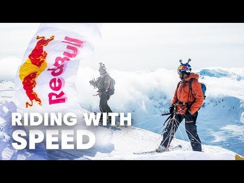 Miles Above: Canadian Speedriding Red Bull ski video