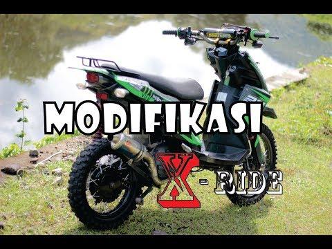 Modifikasi Adventure Trail Yamaha X-ride