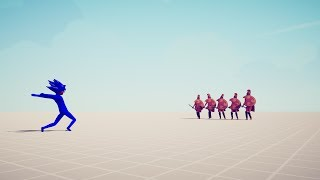 SONIC vs 5x EVERY UNIT - Totally Accurate Battle Simulator TABS