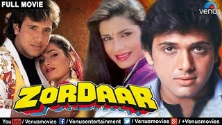 Zordaar Full Movie | Hindi Movies | Govinda Movies | Bollywood Full Movies