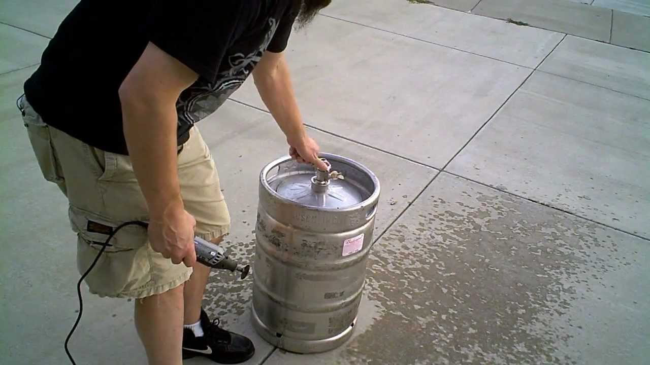 how to make keg brew system