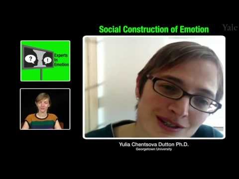 Experts in Emotion 4.3 -- Yulia Chentsova Dutton on Social Construction of Emotion
